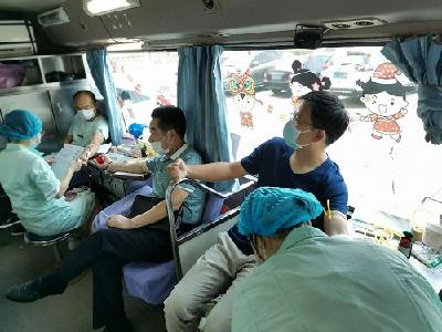 """市自然资源和规划局组织开展""""无偿献血,传递生命希望""""活动"""