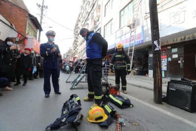普及消防安全 市民现场体验