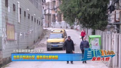 【直通县市区】党员干部进社区  服务民生解难题