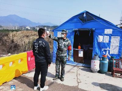 云上咸宁——通山县基干民兵同心协力守净土