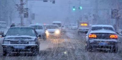 @通山驾驶员:请切换到低温雨雪驾驶模式