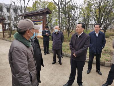 市委副书记、市长王远鹤到崇阳茅井村走访慰问