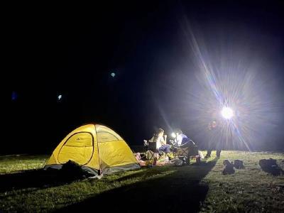 """""""五一""""首日九宫山迎客3000余人,一场不一样的露营正等您来追"""
