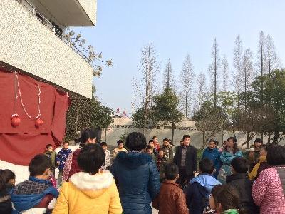 蒋湖小学举行教师趣味运动会