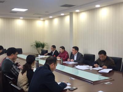 史玉雄同志在市委统战部部务(扩大)会上对2017年全市统战工作提出新要求