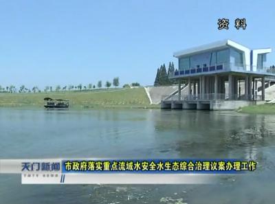 视频|市政府落实重点流域水安全水生态综合治理议案办理工作