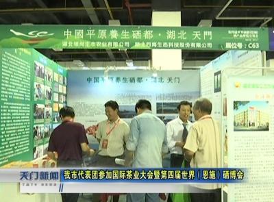 视频丨 我市代表团参加国际茶业大会暨第四届世界(恩施)硒博会