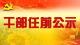 中共天门市委组织部干部任前公示公告
