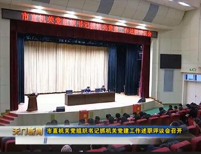 视频丨市直机关党组织书记抓机关党建工作述职评议会召开