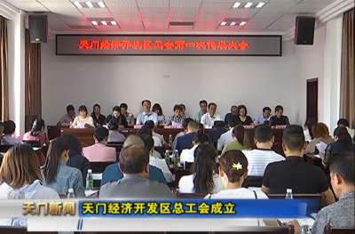 视频丨天门经济开发区总工会成立