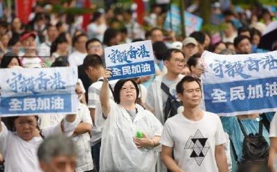 香港各界呼吁停止暴力 恢复经济民生