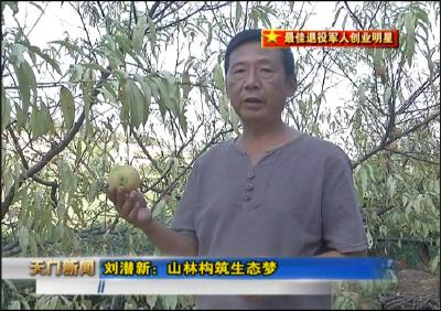 视频丨最佳退役军人创业明星 刘潜新:山林构筑生态梦
