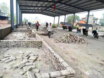 天门这个新建农贸市场下月投入使用,总占地面积1000平米