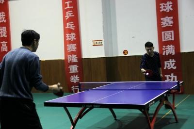 神农架林区2016年职工乒乓球比赛举行