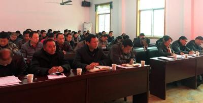 阳日镇举办党的十八届六中全会精神宣讲报告会