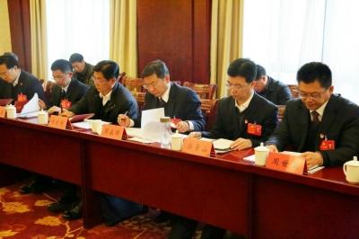 中国共产党神农架林区第十二次代表大会分团讨论(六)