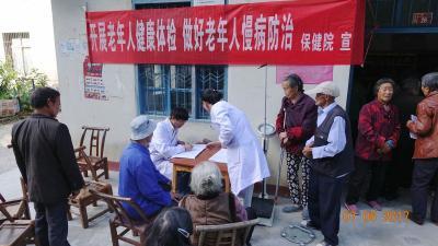 林区保健院扎实落实老年人健康管理