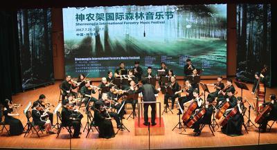 神农架森林音乐节首场音乐会精彩上演