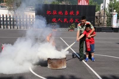 """神农架林区暑期消防夏令营活动""""精彩纷呈"""""""