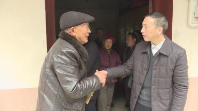 王兴林慰问红坪镇现役军属和困难党员