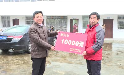 刘启俊赴木鱼镇看望慰问福利院老人和困难群众