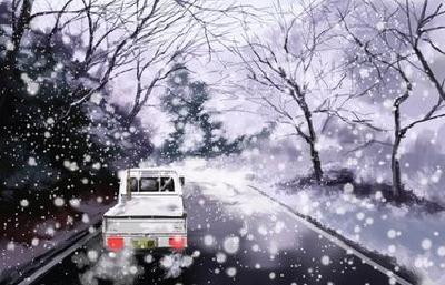 神农架雪天行驶不用怕,一步一步跟他来!