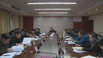刘启俊主持召开林区政府第五次常务会