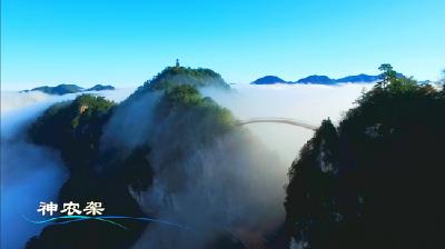 神农架等地风光组成湖北文化旅游形象宣传片登陆央视