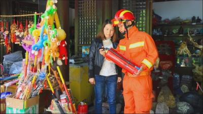"""""""五一""""我在岗:林区消防保平安"""