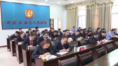 法院开展党风廉政建设暨法治宣传教育月活动
