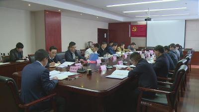 刘启俊主持召开政府常务会 研究分析经济社会发展形势