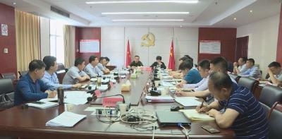 林区召开乡镇书记阶段性重点工作推进会