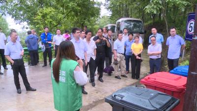 林区召开乡村振兴暨农村垃圾分类治理工作现场办公会