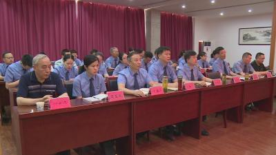 林区检察院举行庆祝建党98周年大会