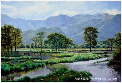 """""""神农架生灵赞——金丝猴油画作品展"""" 将于8月16日正式在天津展出!"""