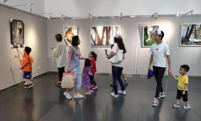 """""""神农架生灵赞——金丝猴油画作品展"""" 将于明天在天津展出"""