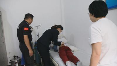 游客为官门山景区应急救助行为点赞
