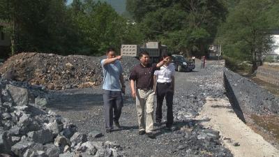 沈绍平赴新华镇调研美丽乡村建设工作