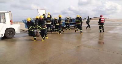 神农架机场开展2019年航空器应急救援综合演练