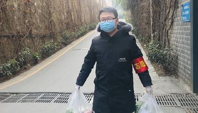 """张黎明:社区防控阵地的""""跑腿员"""""""