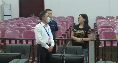 林区人大常委会开展《湖北省预防未成年人犯罪条例》执法检查