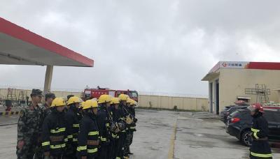 神农架机场:灭火实战练精兵 消防安全筑壁垒