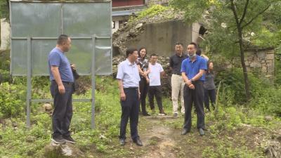 周森锋赴宋洛乡检查调研防汛抗旱和河湖长制工作