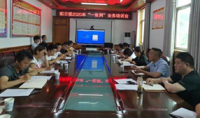 """林区政务办在阳日镇举办""""一张网""""业务培训"""