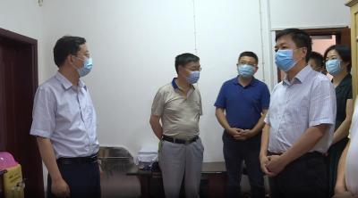周森锋刘启俊等检查林区高考准备工作