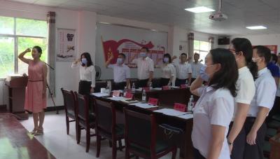省电力公司党委第二巡察组到古水村开展主题党日活动