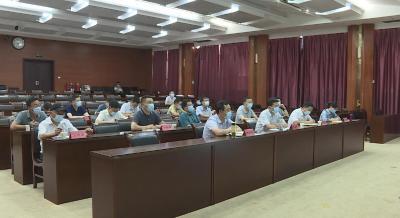 林区组织收听收看国务院联防联控机制电视电话会议