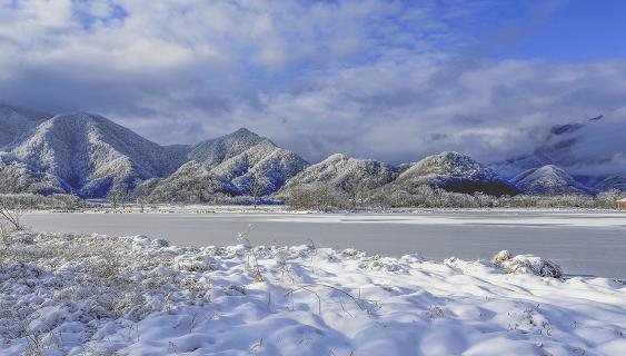 神农架冬季大九湖 尽显静谧美