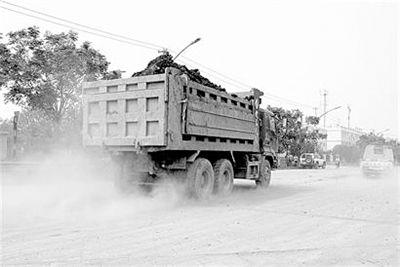 湖北拟修改地方法规 渣土车污染路面最高罚2万元