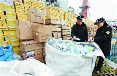 湖北无害化销毁假劣食品药品 涉案货值达3000余万元